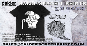 band merch - we won't be beaten on price!!!!
